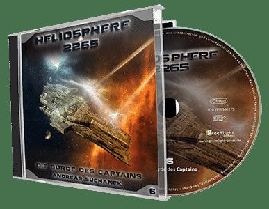 Heliosphere 2265 - Hörspiel 6: Die Bürde des Captains von Andreas Suchanek