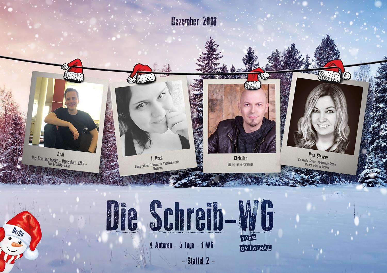 Die 2. Staffel der Schreib-WG findet im Dezember 2018 in Berlin statt - www.andreassuchanek.de