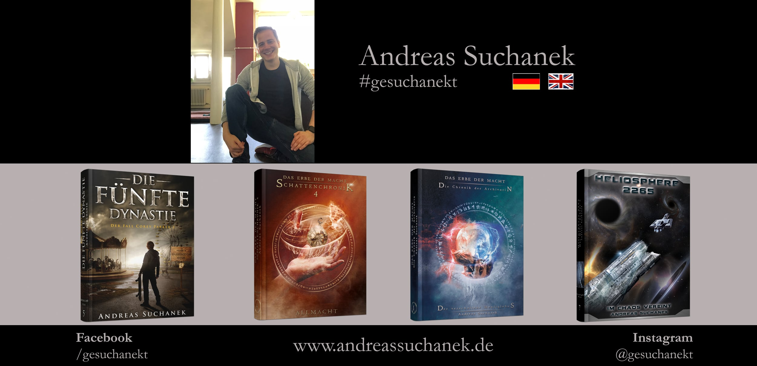 Andreas Suchanek - Autor