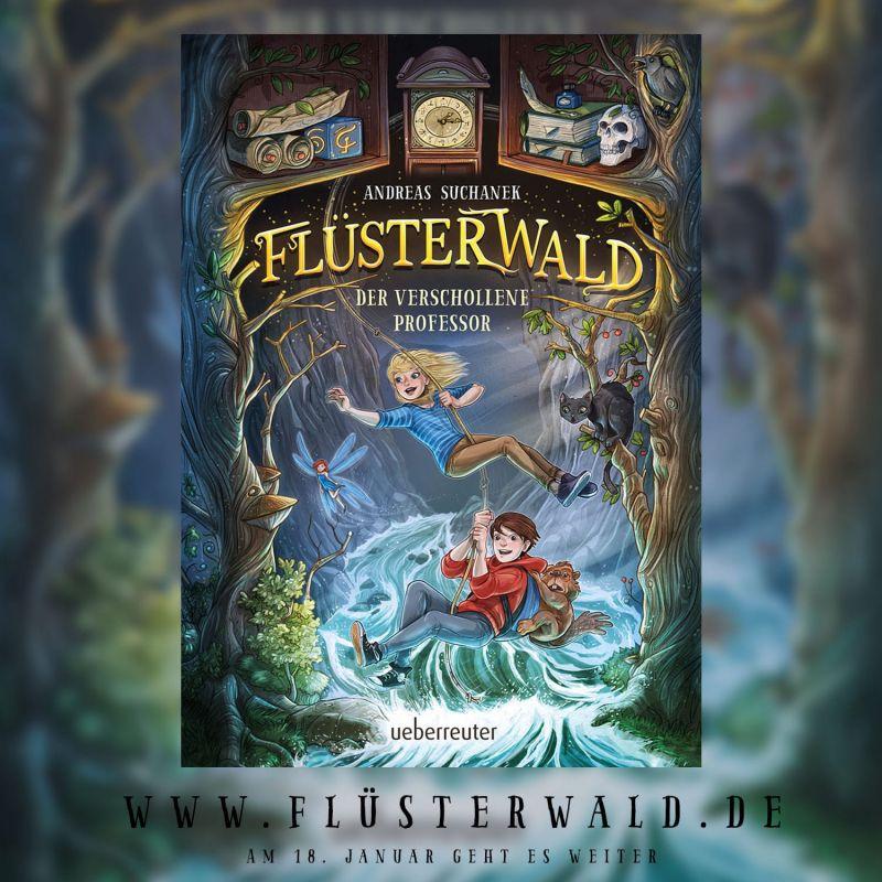 Flüsterwald - Das Cover zu Band 2