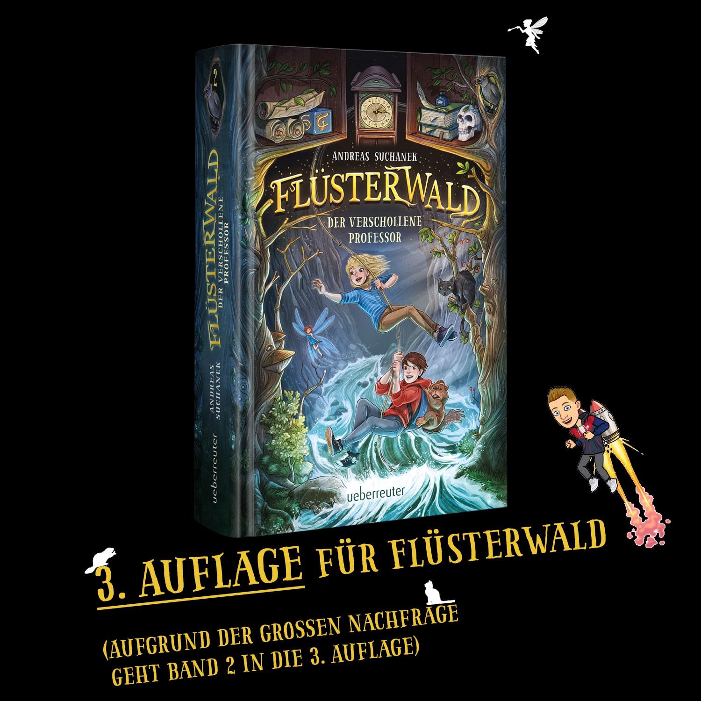 3. Auflage für Flüsterwald 2