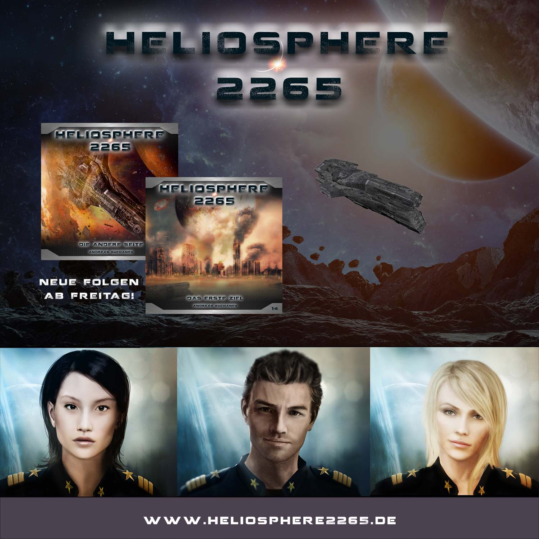 Heliosphere 2265 - Hörspiel geht in zweite Staffel